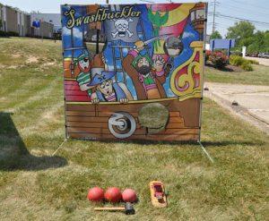 Carnival Frame Game_Pirate Themed Rental_Cincinnati Ohio