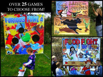 Carnival Frame Games Rental Cincinnati Ohio