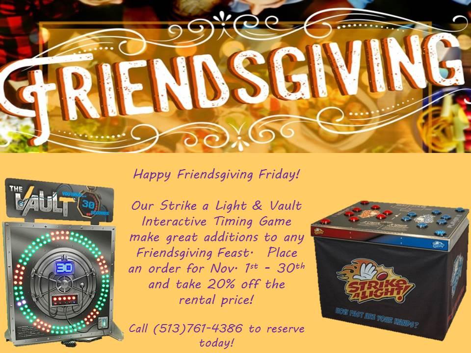 Happy friendsgiving friday