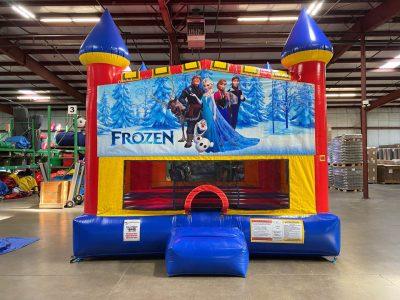 Frozen Elsa Custom Castle Bounce House Renal Cincinnati Ohio