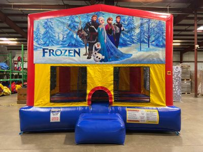 Frozen Playhouse - Customize-able Inflatable Bounce House Rental Cincinnati Ohio