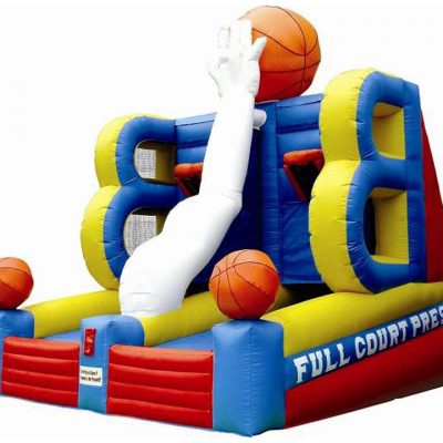 Full Court Press Inflatable Basketball Game Rental Cincinnati Ohio