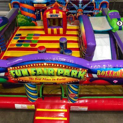 Fun Fair Park Inflatable Preschool Playland Bouncehouse - Cincinnati, Ohio