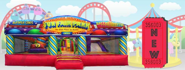 FUN FAIR PARK INFLATABLE PLAYLAND added to inventory!