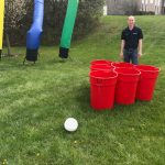 Giant Lifesize Beer pong rental cincinnati
