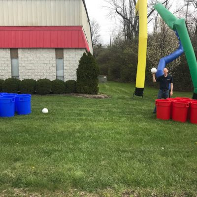 Giant Lifesize Beer pong rental cincinnati