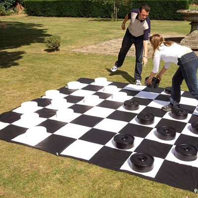 Giant Over-Sized Checkers Game Rental Cincinnati Ohio