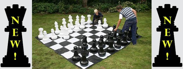 Giant Oversize Chess Game Rental Cincinnati Ohio