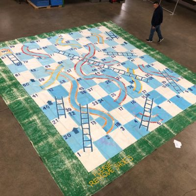 giant lifesize chutes and ladders game rental cincinnati