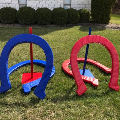 Giant Oversize Horse Shoes Game Rental Cincinnati Ohio