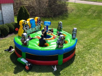 Giant, Inflatable Human Whack-A-Mole Rental Cincinnati Ohio