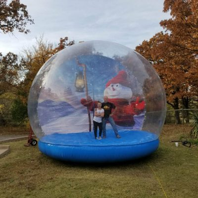 Inflatable Life Size Giant Snow Globe Rental Cincinnati Ohio