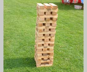 Giant Oversized Jenga Rental Cincinnati Ohio Kentucky