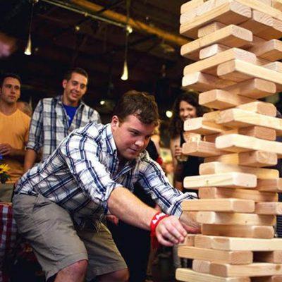 Giant Oversized Jenga Rental Cincinnati Ohio Kentucky