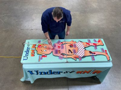 Under the Knife Giant Operation Top Doc Table Top Game Rental Cincinnati Ohio