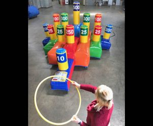 Giant Ring Toss - Inflatable Game Rental Cincinnati Ohio