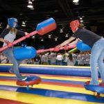 Gladiator Jousting Inflatable Game Renal Cincinnati, Ohio