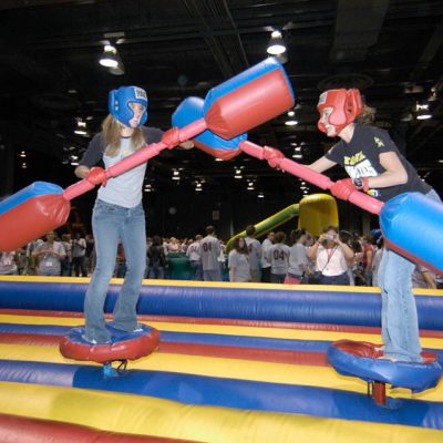 Gladiator Jousting Inflatable Game Renal Cincinnati, Ohio