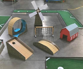 Putt Putt Miniature Golf Rental Cincinnati Ohio - Countryside