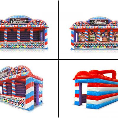 Grand Carnival Midway - Inflatable Carnival Booth Trailer Rental - Cincinnati, Ohio