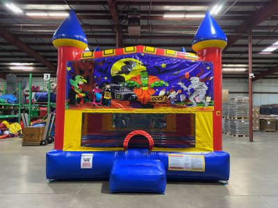 Halloween Custom Castle Bounce House Renal Cincinnati Ohio