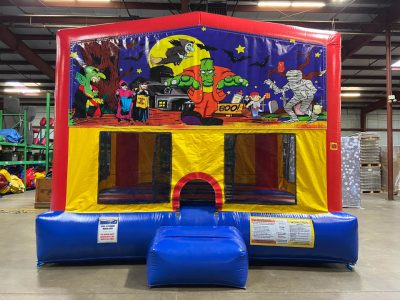 Halloween Playhouse - Customize-able Inflatable Bounce House Rental Cincinnati Ohio