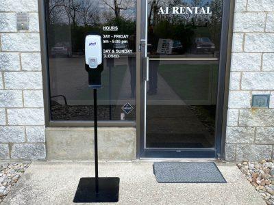 Covid Safety Hand Sanitizer Station Party Rental Cincinnati Ohio