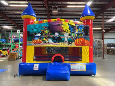 Happy Haunting Custom Castle Bounce House Renal Cincinnati Ohio