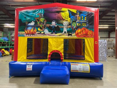 Happy Haunting Playhouse - Customize-able Inflatable Bounce House Rental Cincinnati Ohio