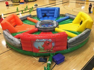 Inflatable giant hungry hippo chow down rental cincinnati ohio