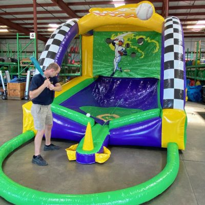 Home Run Derby Inflatable Baseball Party Rental Cincinnati Ohio