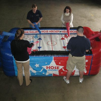 Hose Hockey inflatable air hockey rental cincinnati ohio