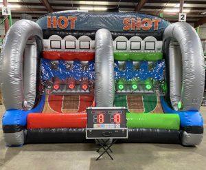 Hot Shot Basketball Pop-A-Shot Inflatable Rental Cincinnati Ohio