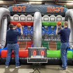Hot Shot Basketball Pop-A-Shot Inflatable Rental Cincinnati Ohio