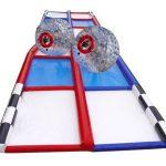 Human Hamster Zorb Ball Race Criss Cross Collision Course Rental Cincinnati Ohio
