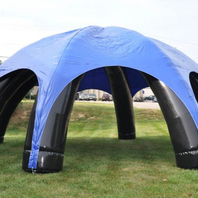 30' Round Inflatable Tent Rental Cincinnati Ohio