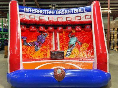 Interactive Basketball Pop-A-Shot Inflatable Rental Cincinnati Ohio