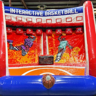 Interactive Basketball Pop-A-Shot Inflatable Rental Cincinnati Ohio