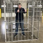 Lock Up Jail Cell Bail Fund Raiser Cage Rental Cincinnati Ohio