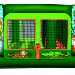 Jr. Jungle Jump Inflatable Bounce House w/ Ball Pond Rental Cincinnati Ohio