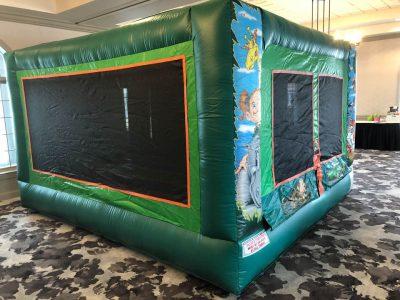 Jr. Jungle Jump Inflatable Bounce House w/ Ball Pond Rental Cincinnati Ohio