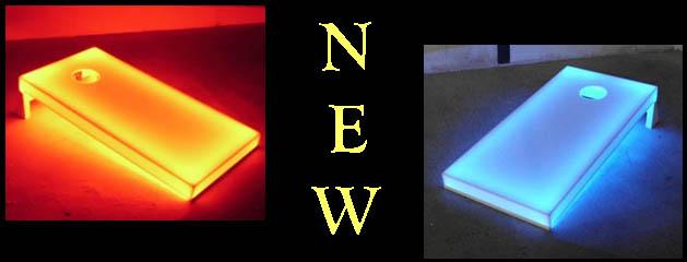LED CORNHOLE added to inventory
