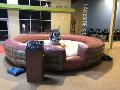 Mechanical Bull Rental with Inflatable Cincinnati, Ohio