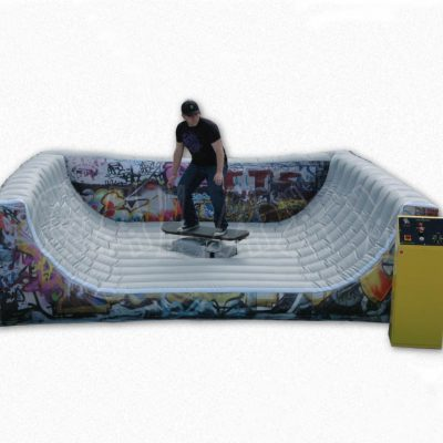 Inflatable Mechanical Surfboard Skateboard Snowboard Simulator Rental Cincinnati, Ohio