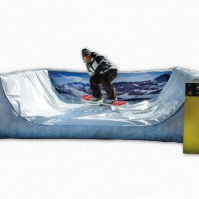 Inflatable Mechanical Snowboard Simulator Rental Cincinnati Ohio