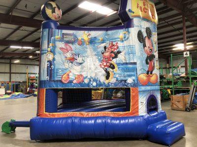 Walt Disney's Mickey Mouse Fun Factory Inflatable Bounce House Rental Cincinnati Ohio