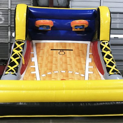 Mini All Stars Inflatable Basketball Pop-A-Shot Rental Cincinnati Ohio