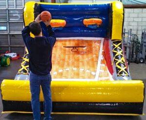 Mini All Stars Inflatable Basketball Pop-A-Shot Rental Cincinnati Ohio