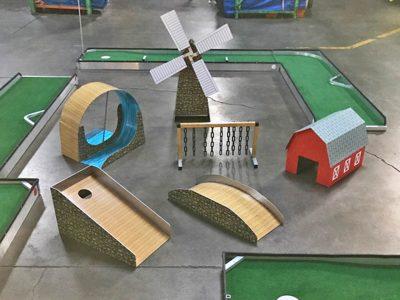 Putt Putt Miniature Golf - Obstacles Rental Cincinnati Ohio