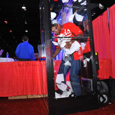 Money Machine Cash Cube Booth Rental Cincinnati Ohio